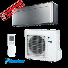 Inverter air conditioner Daikin Stylish Silver FTXA20BS / RXA20A, 7000BTU, А+++, R32