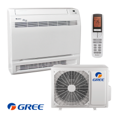 Inverter air conditioner Gree GEH09AA / K3DNA1D - Floor type, 9000BTU, Клас А++, WiFi
