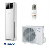 Column air conditioner Gree GVH24AL / K3DNC7A, 24000 BTU, Inverter