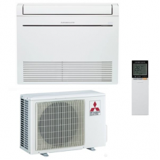 Inverter air conditioner Mitsubishi Electric MFZ-KJ25VE / MUFZ-KJ25VE - floor type, 9000BTU, A +++