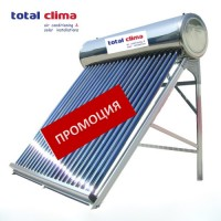 Solar collector for hot water under pressure Total Clima HP 200 LUX