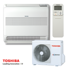 Inverter air conditioner Toshiba Bi-flow RAS-B10UFV-E / RAS-10N3AV2-E - floor type